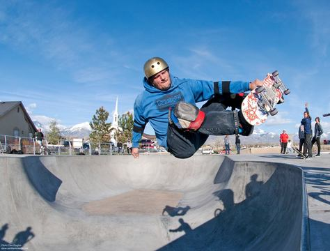 Lehi Utah Front Side Air - Dan Hughes