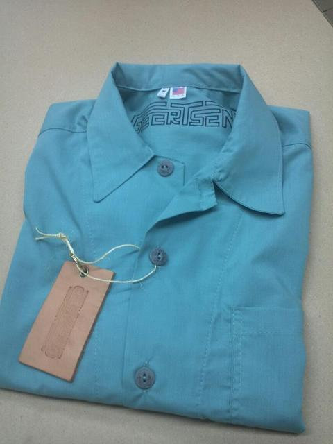 TheTed Button up short sleeve cotton shirt with