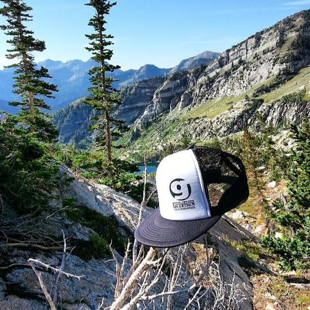 Testing the geertsen skateboards hats at 9400 feet